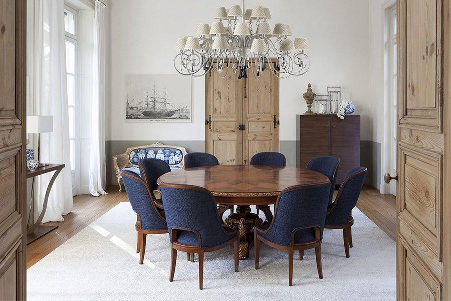 歐洲進口 義大利進口 餐桌餐椅 大圓桌