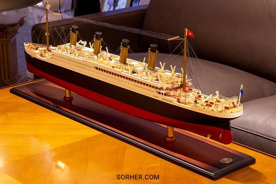 鐵達尼號模型