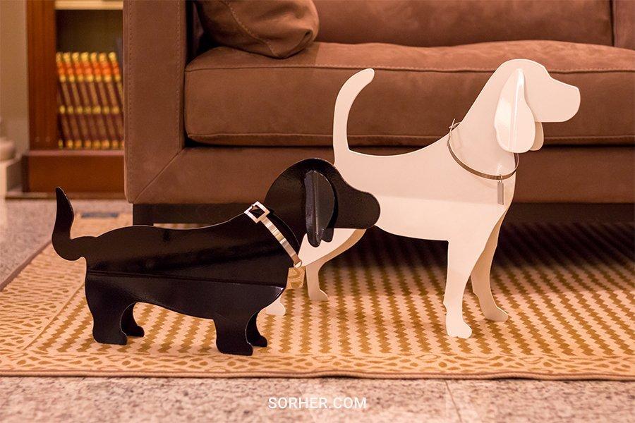 義大利進口 不鏽鋼狗雕塑