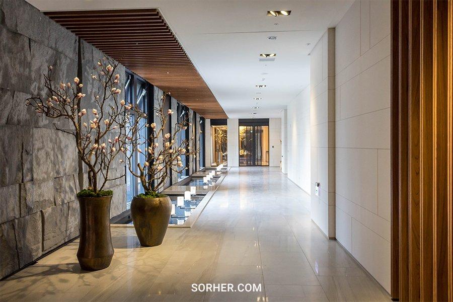 公設空間布置 門廳穿堂花藝設計