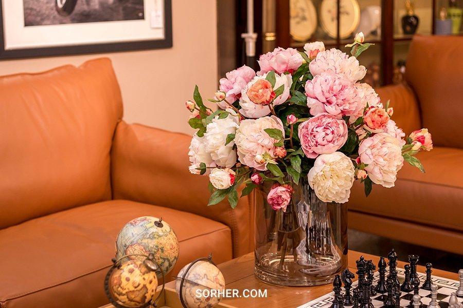 桌上型花藝設計 牡丹