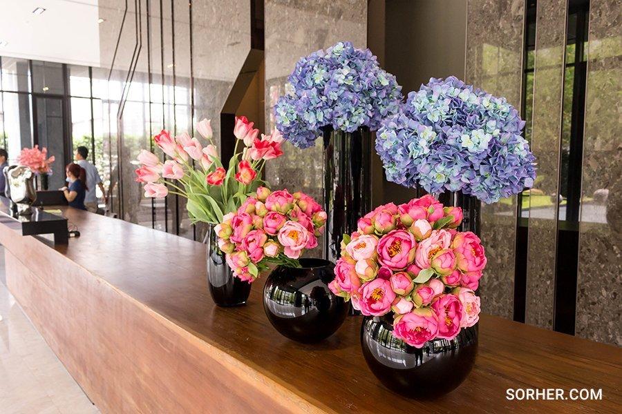 多上型花藝設計 繡球花 陸蓮花