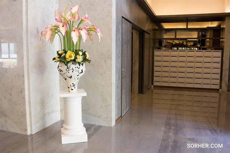 大型花藝布置 公設花藝設計