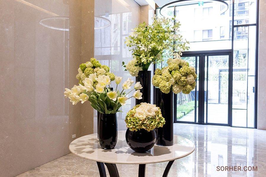 桌上型花藝設計 公設花藝布置