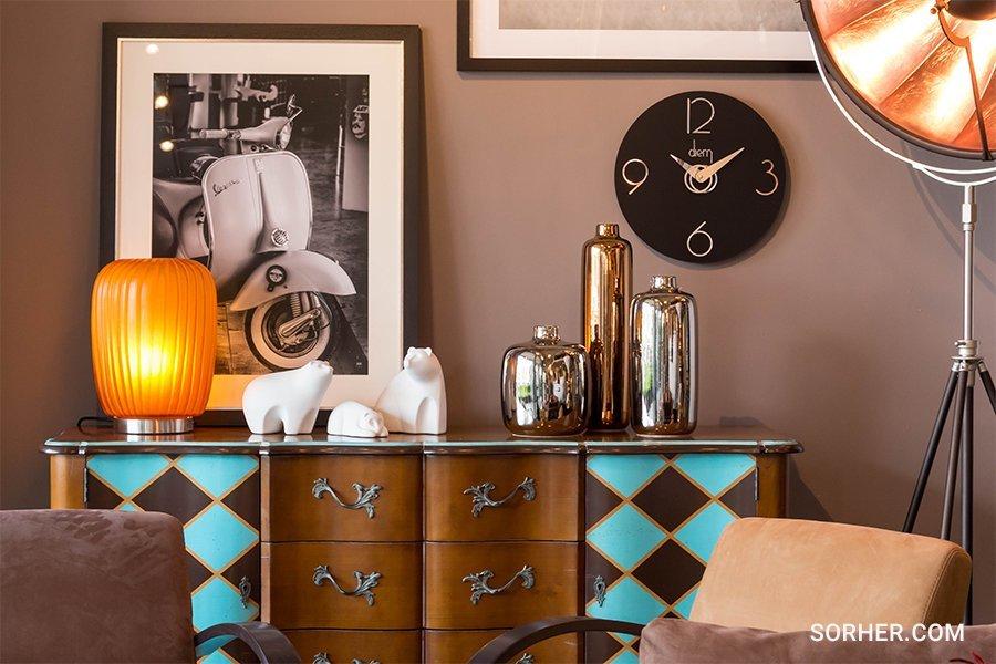居家空間軟性佈置 設計花器 掛鐘 立燈