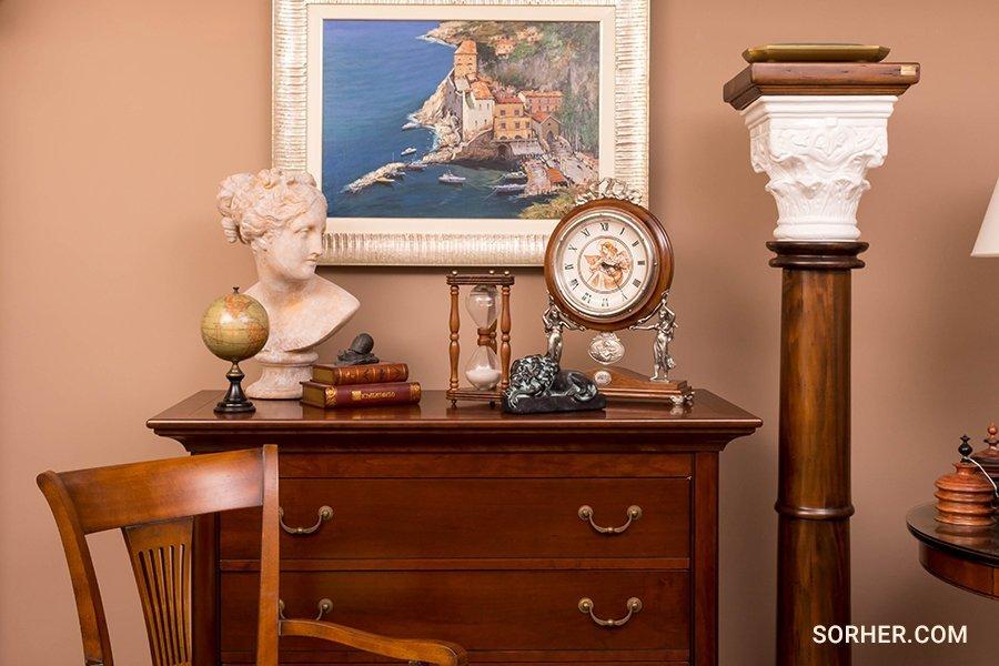 古典真跡油畫 雕塑 桌鐘