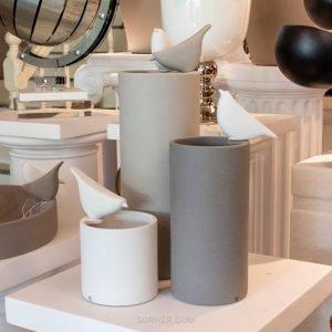 義大利 精緻燒陶花器